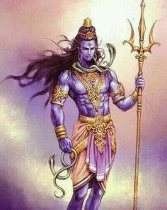 Shiv with snake...