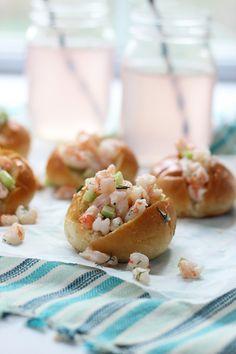 Mini Shrimp Rolls on