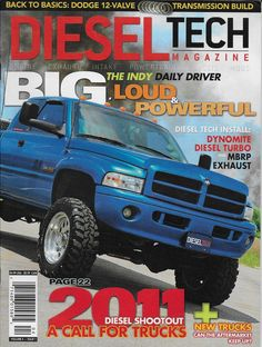 Diesel Tech magazine Indy daily driver Dynomite turbo Transmission build Dodge