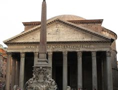 "The Pantheon, Rome. In ""Angels and Demons,"" hero Robert Langdon believes the magnificent Pantheon, where Raphael is buried, is the first altar of science of the Illuminati."