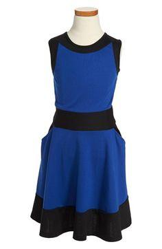 Miss Behave 'Sabrina' Skater Dress (Big Girls) available at #Nordstrom