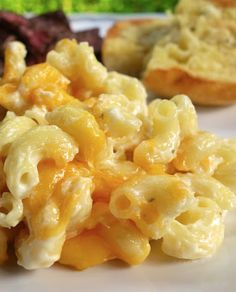 OMG Mac and Cheese Recipe...nice and light (NOT!) Tastes amazing! Macaroni, boursin cheese, heavy cream, cream cheese and cheddar. One bite and you'll know why it's called OMG Mac and Cheese!!