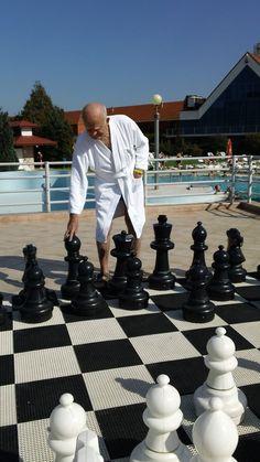 Very heavy chess board