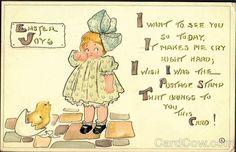 Easter Joys Stamp:1C Postmark/Cancel:1913 ROCHESTER, NY