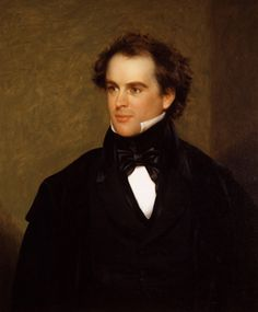 Nathaniel Hawthorne, author of The Scarlet Letter - pretty easy on the ol' eyes! Louisa May Alcott, Charlotte Bronte, Nathaniel Hawthorne Quotes, The Scarlet Letter, Vincent Price, Most Popular Books, Writers And Poets, Portraits, Playwright