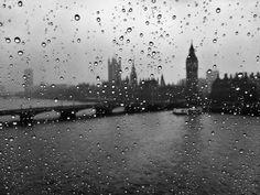 Rainy London Eye by nikjcannon,