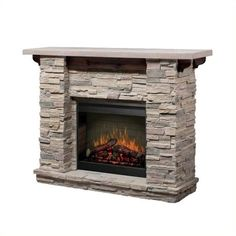 Dimplex Featherston Stone Mantel (4.895 BRL) ❤ liked on Polyvore featuring home, home decor, stone, dimplex, recessed wall shelf, stone home decor, mantel wall shelf and stone ledge
