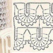Crochet Curtain Patterns Part 11 - Beautiful Crochet Patterns and Knitting Patterns Crochet Curtain Pattern, Crochet Curtains, Curtain Patterns, Knitting Patterns, Crochet Patterns, Beautiful Crochet, Diys, Lace, Cute Crochet