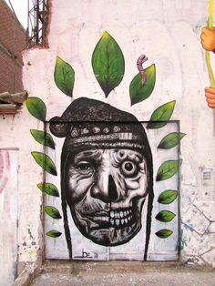 StreetArt BOLIVIA Hojas de coca by Joe