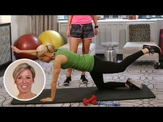 ▶ Carrie Underwood's Trainer Gives Us 3 Easy Exercises for Moms-to-Be | Great Ideas | PEOPLE - YouTube