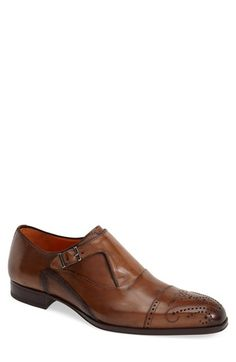 Mezlan+'Pisano'+Monk+Strap+Slip-On+(Men)+available+at+#Nordstrom