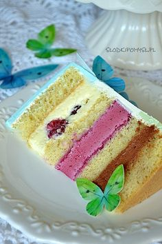 Russian Cakes, Vanilla Cake, Food And Drink, Birthday Cake, Sweets, Cookies, Impreza, Baking, Fruit
