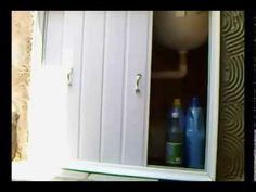 PORTA COM SOBRAS DE PVC PARA PIAS E TANQUES.faça você mesmo!!! - YouTube Bathroom Medicine Cabinet, Diy Home Decor, Youtube, Design, Fig, Kitchen Cupboard Doors, Kitchen Sinks, Curtains For Kitchen, Kitchen Brick