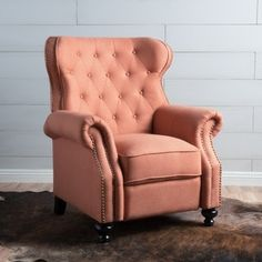 Shop for Walder Tufted Fabric Recliner Club Chair by Christopher Knight Home. Get free delivery at Overstock.com - Your Online Furniture Shop! Get 5% in rewards with Club O! - 21748860