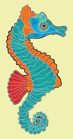 caballito de mar by godienavarro.deviantart.com