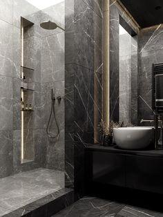 Washroom Design, Bathroom Design Luxury, Modern Bathroom Design, Modern Design, Bathroom Design Inspiration, Bad Inspiration, Dream Bathrooms, Beautiful Bathrooms, Dream Home Design