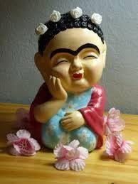Resultado de imagen para frida kahlo en porcelana fria