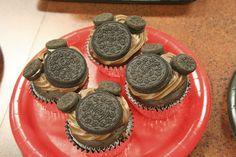 mickey oreo cupcakes