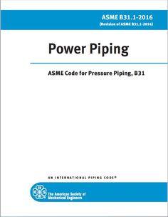 ASME B31.1 Power Piping-2016