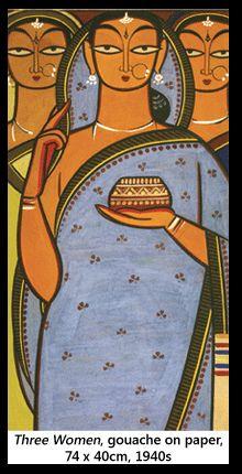 Jamini Roy's Art in Retrospect Worli Painting, Poster Color Painting, Fabric Painting, Madhubani Art, Madhubani Painting, Indian Folk Art, Indian Artist, Om Namah Shivaya, Jamini Roy