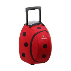 Bestest Christmas Gift Guide - The Ladybird Wheelie Duffle *meep! Kids Luggage, Luggage Suitcase, Kid Essentials, Trolley Case, Outdoor Fashion, Class Decoration, Christmas Gift Guide, Christmas Shopping, Kids Gifts
