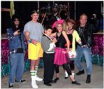 EVERYONE dresses at the 80's Fest in Frankenmuth!