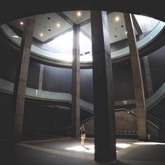 . . Men in light . #chasinglight . Nagaragawa Convention Center, Gifu, Japan / architect : Tadao Ando . conversion lens for iPhone @tokyo_grapher #tokyo_grapher #widelens .