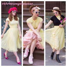 Vintage dress threewaystowear Ruthie darling