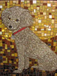 , glass on glass mosaic