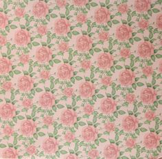Paper Pizazz Soft Florals Pink Roses 12 x 12 Flat Scrapbook Paper is available at Scrapbookfare.