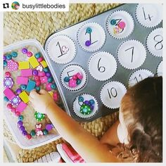 You are in the right place about montessori materials diy Here we offer you the most beautiful pictu Kindergarten Lesson Plans, Toddler Activities, Learning Activities, Preschool Activities, Kids Learning, Maternelle Grande Section, Simple Math, Easy Math, Fun Math