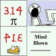 Math humor. Happy Pi Day (3/14)!