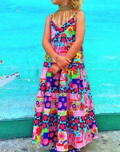 Coramo: summer dress Lorelei, #Jolijou #farbenmix #sewing #dress #nähen