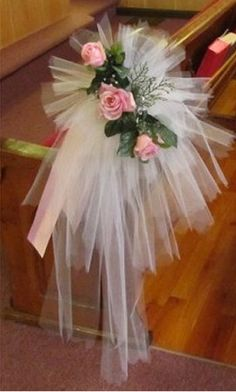 Tulle Bow Tutorial - Easy Photo Directions for Pew Bows