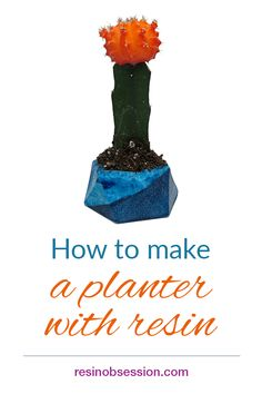 Easy DIY resin planter