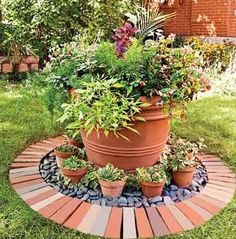 project for Mom's garden?