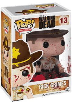 The Walking Dead - Rick POP! Vinyl Figure (Blood Splatter) By Funko - TV / Movie…