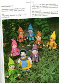 Knitted Fairy Tale Toys with Free English Patterns