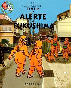 Les Aventures de Tintin - Album Imaginaire - Alerte à Fukushima: