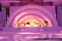 Chanel Paper Flower Stage by Olivier Dolz