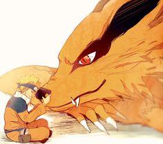Kurama & Naruto Uzumaki