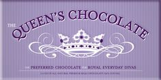 Queen's Chocolate Bar, See the collection at BethBingham.com #yummy #chocolate #treat #fashion #follow4follow #teamfollowback #fashionista #beauty