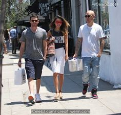 Jamie Chung And Bryan Greenberg have lunch with Ben Baller at Joan's on Third in Los Angeles http://icelebz.com/events/jamie_chung_and_bryan_greenberg_have_lunch_with_ben_baller_at_joan_s_on_third_in_los_angeles/photo1.html