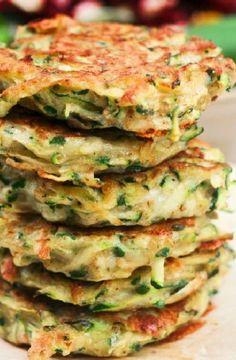 Low FODMAP Recipe and Gluten Free Recipe - Zucchini & potato rosti http://www.ibs-health.com/low_fodmap_1_zucchini_potato_rosti.html