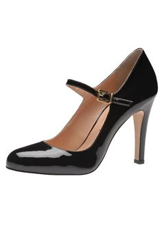 ¡Consigue este tipo de zapatos de salón de EVITA ahora! Haz clic para ver  los detalles. Envíos gratis a toda España. Evita Zapatos altos black: Evita  ...