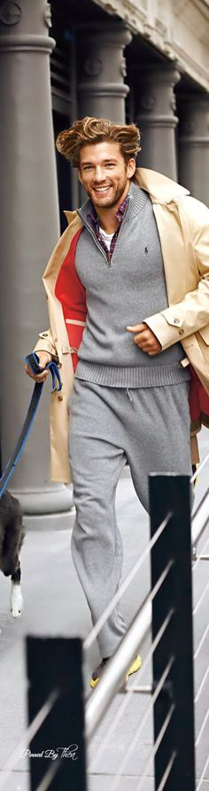 Ralph Lauren ● Polo Performance fleece ~ Tнεα.  Via  @theatoria. #RalphLauren #mensfashion