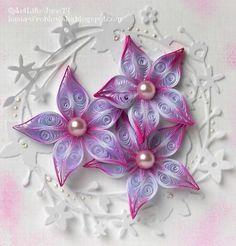Resultado de imagen de flor quilling sencilla