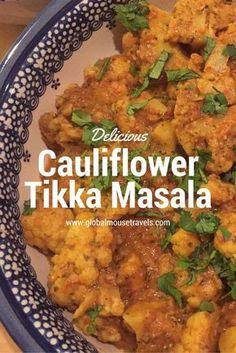 Cauliflower Tikka Masala - copyright: www.globalmousetravels.com
