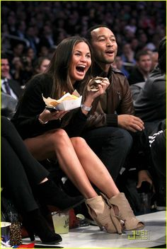 favorite couple of all time. #chrissyteigen #johnlegend