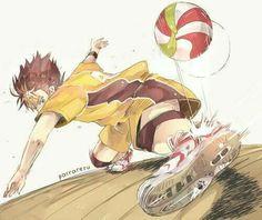 noya san being awesome af